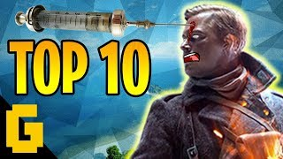 TOP 10 Battlefield 1: Killstreak, Clutch Moment, Multi kill, epic win, assault, medic, support, scout, sentry, flame trooper. ★Like this video if you want to...