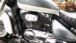 3. 2011 Suzuki C50T Boulevard Mint/Creme - used motorcycle for sale - Eden Prairie, MN
