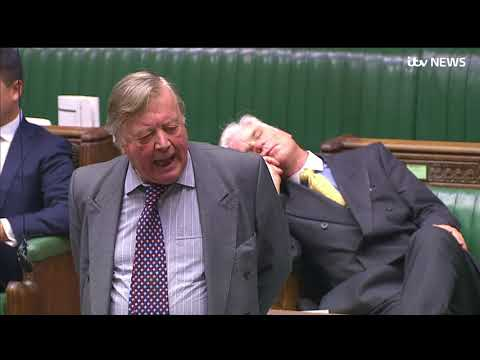 Video - Αγγλία: Βουλευτής συνελήφθη σε βαθύ ύπνο (vid)