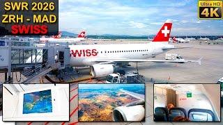SWISS full flight experience from Zurich to Madrid. Vuelo completo de Zurich a Madrid con SWISS. FLIGHT INFO / INFORMACIÓN...