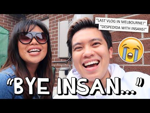 """LAST VLOG IN MELBOURNE..."" ✈️😭 (GOODBYE INSANS!!) 💔🇦🇺 | Kimpoy Feliciano"