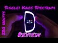 Sigelei Kaos Spectrum 230W Mod (Review) ModShield by JoJo