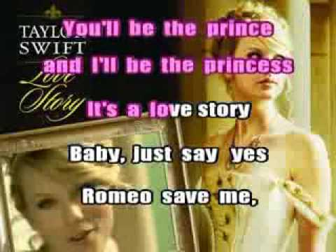 Love Story Taylor Swift  on Descargar Musica Mp3 Gratis De Taylor Swift Love Story Karaoke