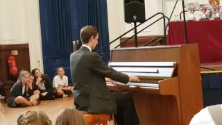 Download Lagu Lewes Old Grammar School prize giving 2017. Alex plays e minor waltz Mp3