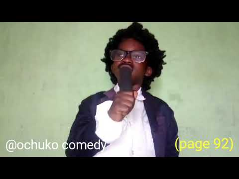 Ochuko comedy(church service)