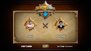 Ant vs Purple, game 1
