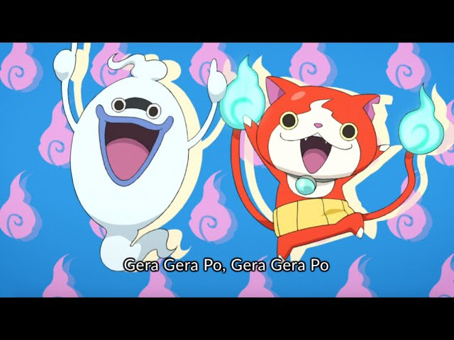GERA GERA PO SONG (ENGLISH VER.) | YO-KAI WATCH OP Song