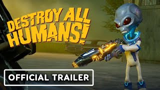 Destroy All Humans! - Official Disintegrator Ray Trailer by IGN