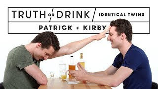 Video Identical Twins Play Truth or Drink (Patrick & Kirby)   Truth or Drink   Cut MP3, 3GP, MP4, WEBM, AVI, FLV Maret 2019