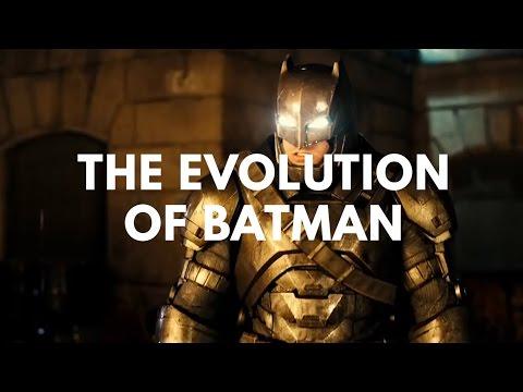 影迷必看!影視作品的歷代蝙蝠俠進化史