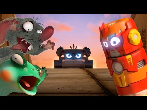 LARVA - LARVA RANGERS | Cartoons For Children | LARVA Full Episodes | Cartoon Super Heroes