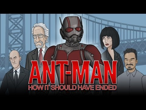 How AntMan Should Have Ended