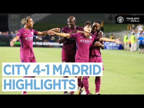 Man City vs Real Madrid 4-1   All Highlights & Goals - Official HD 27 July 2017