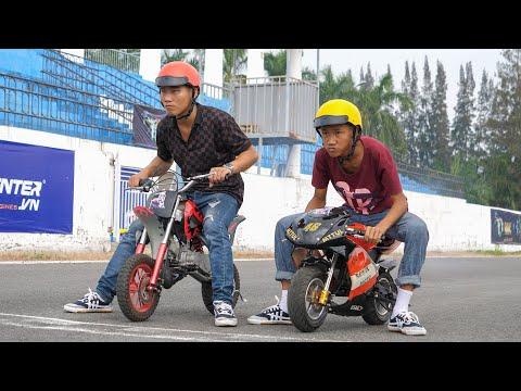 NERF GUN MOTOR RACING BATTLE 2