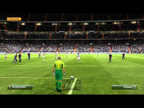 El Clásico в FIFA 13 LIVE