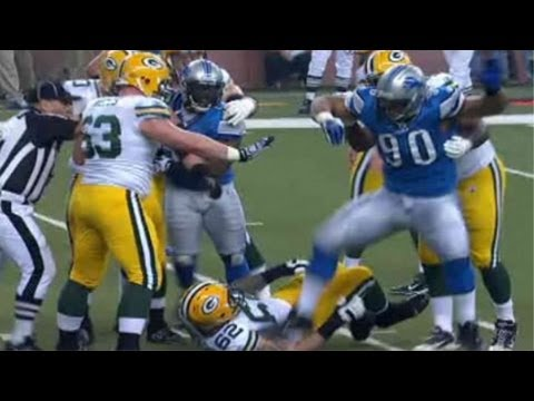 NMATV - Suh stomp. Detroit Lions defensive tackle Ndamukong Suh will likely be suspended for at least two games after he stomped on Green Bay Packers' offensive line...