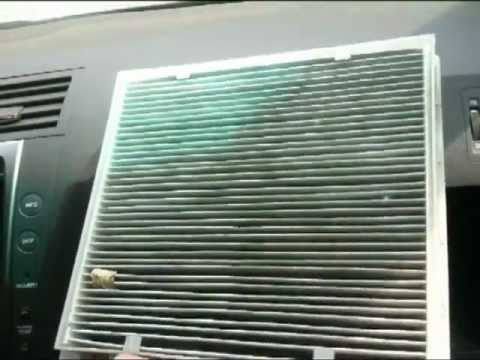 How-to Change Cabin Air Filter Lexus GS (1st Put AC on Re-Circulate)