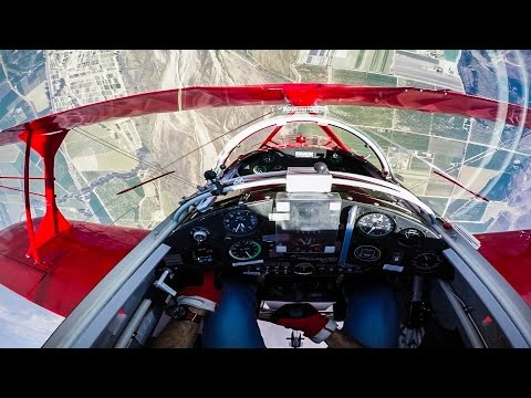 In the Cockpit with a Stunt Pilot