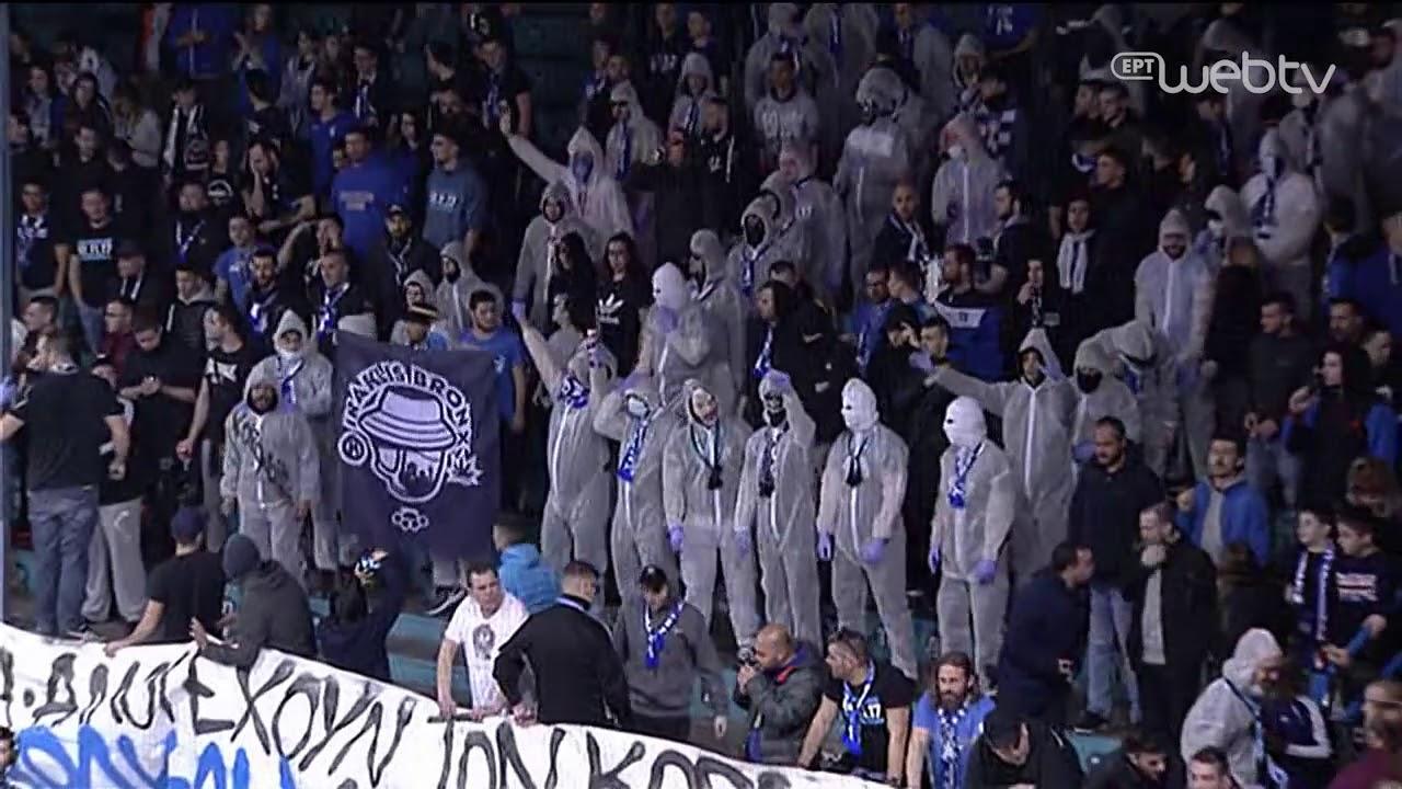 Οι οπαδοί του Ηρακλή «οπλισμένοι» απέναντι στον Κορωνοϊό! | 01/03/2020 | ΕΡΤ