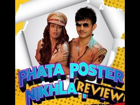 Phata Poster Nikhla Hero Review by KRK   KRK Live   Bollywood