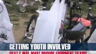 USA Triathlon and Walmart Partner to Provide Equipment to Kids