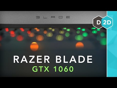 Razer Blade (GTX 1060) Review - Does it Get Too Hot?!