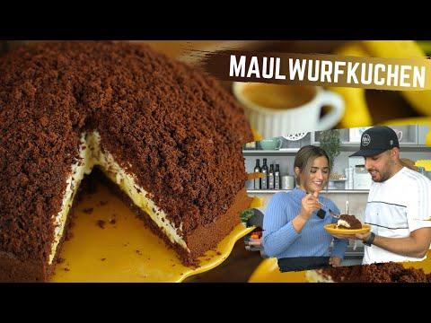 Maulwurfkuchen selber backen / Bananen-Stracciatella-Torte / Rezept mit Taste Test