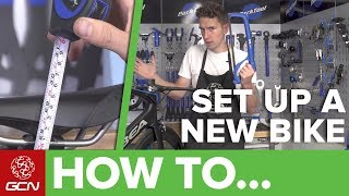 Once you've built your new bike or had it built for you, the next and equally crucial step is setting it up to your custom preferences.