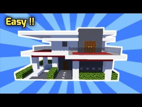 Minecraft Rumah Modern 5 8 80 Mb Wallpaper