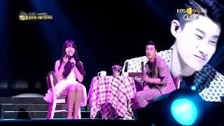 San E & Raina  A Midsummer Night's Sweetness 150122 KBSjoy Seoul Music Awards