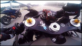 8. Yamaha YZF R1 2007 vs Gsxr 1000 2011 & More