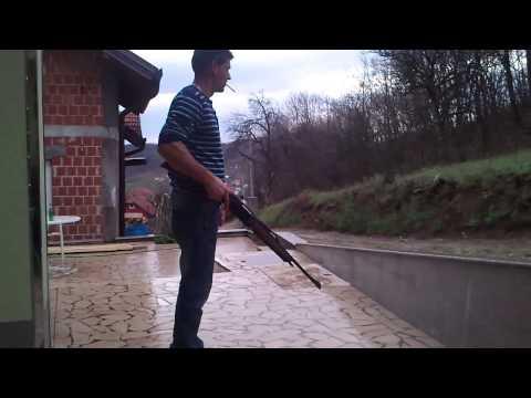 Pucanje is Karabina Winchester SXR Vulkan 3006 Moj Baba
