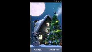 Christmas Moon YouTube video