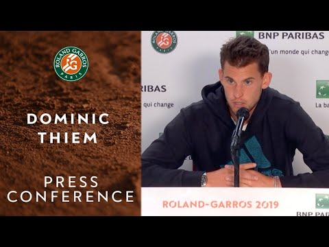Dominic Thiem - Press Conference after Final | Roland-Garros 2019