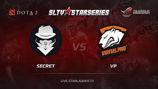 Secret vs Virtus.Pro, game 1