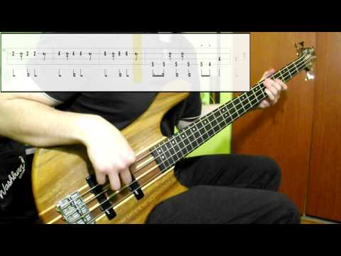 Toto - Africa (Bass Cover) (Play Along Tabs In Video)