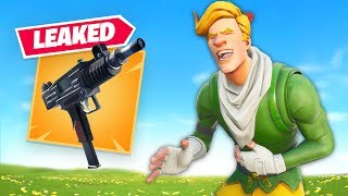 Fortnite did an Oopsie... (Another Leaked Gun)