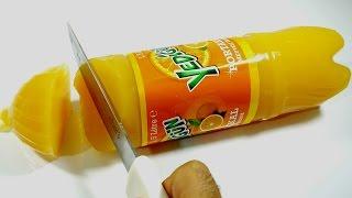 gazlı içecekten jelibon yumuşak şeker nasıl yapılır  sytv dolu yedigün şişesi kestim