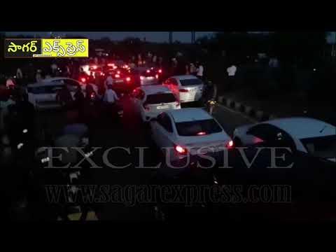 (26-03-2020) హైదరాబాద్ నుండి తిరిగి వస్తున్న ఆంధ్ర ప్రజలు/Stuck At Telangana ! Sagarexpress.com