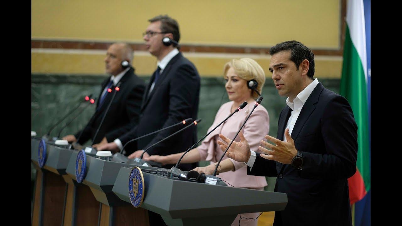 Δηλώσεις στο πλαίσιο της Συνόδου Κορυφής Ελλάδας-Βουλγαρίας-Ρουμανίας-Σερβίας