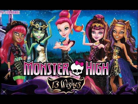 Monster High: 13 Monster Desejos - Filme Completo