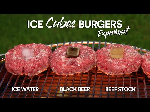 The ICE CUBE Burger Experiment, Surprising!