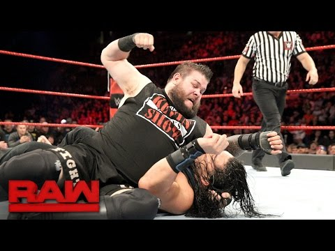 Roman Reigns & Seth Rollins vs. Kevin Owens & Chris Jericho: Raw, Dec. 19, 2016
