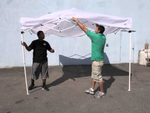 10x10 Tent Rental, Popup Canopy, EZ Up Tent Setup | Magic Jump Rentals
