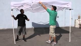 10x10 Tent Rental, Popup Canopy, EZ Up Tent Setup | Magic Jump Rentals