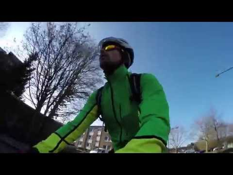 Christopher beim Test der Gore Bike Wear 2015 Kollektion