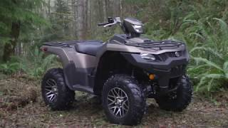 6. THE NEW 2019 SUZUKI KINGQUAD 750 & 500