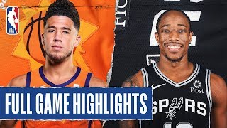 SUNS at SPURS | FULL GAME HIGHLIGHTS | January 24, 2020 by NBA