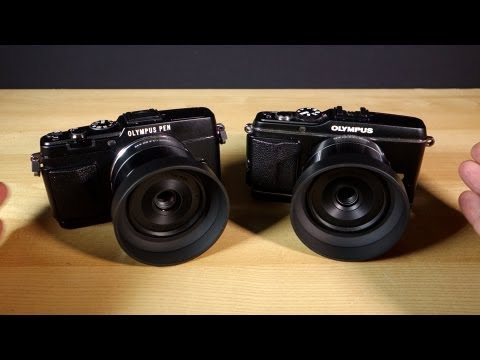 Olympus PEN E-P5 vs Olympus PEN E-P3 Camera Shootout