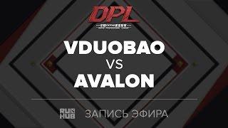 VDUOBAO vs AVALON, DPL.T, game 1 [GodHunt]